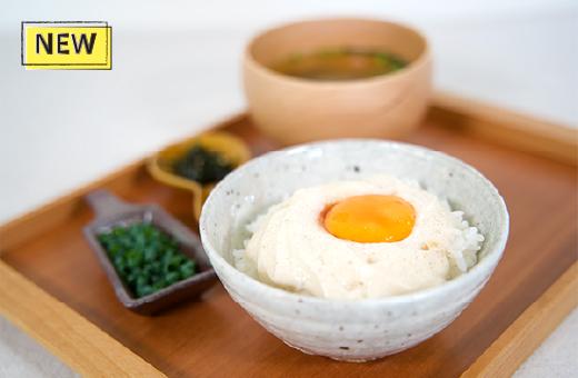濃厚さくら卵のたまごご飯