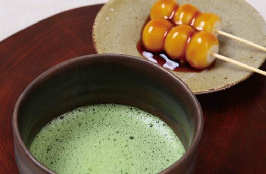 お抹茶と串団子セット